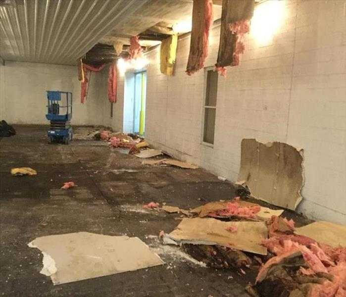 Commercial Packing Plant Suffers Roof Damage After Storm Before